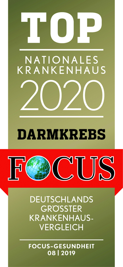 Focus Siegel Top Nationales Krankenhaus 2020 Darmkrebs
