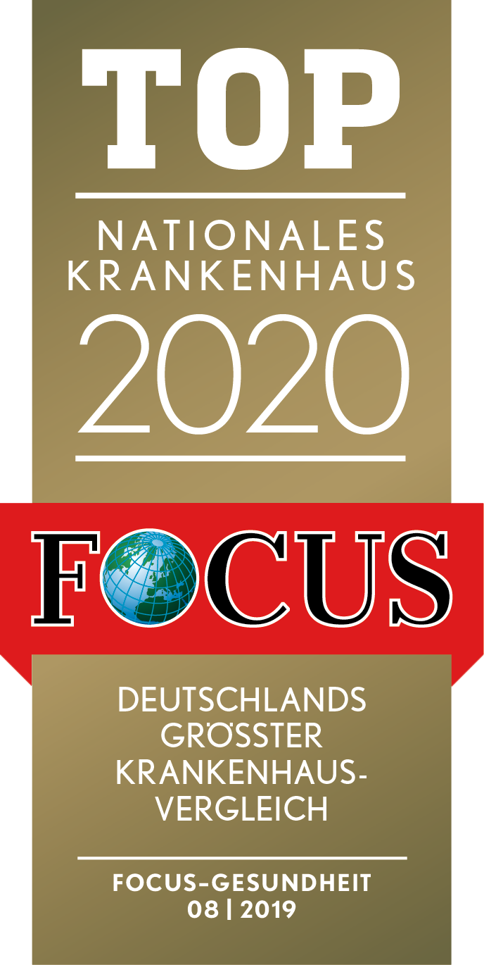 Focus Siegel Top Nationales Krankenhaus 2020