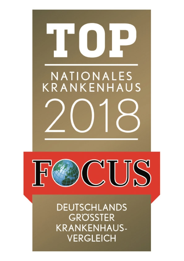 Focus Siegel Top Nationales Krankenhaus 2018