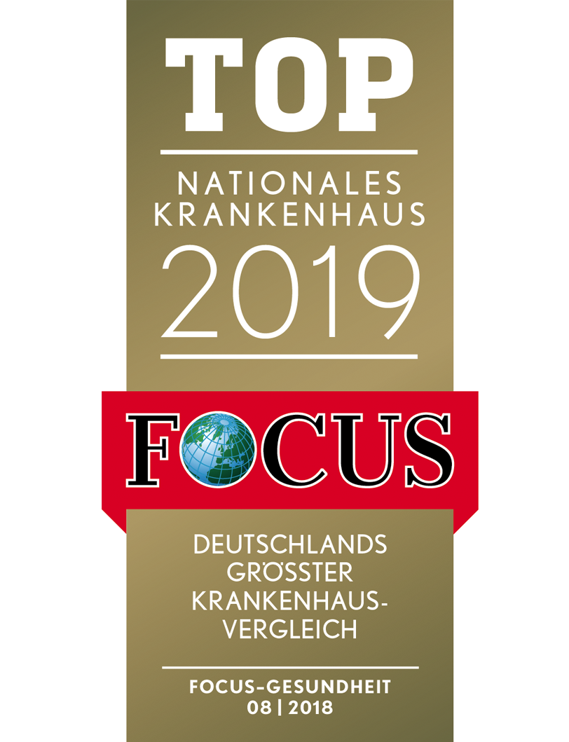 Focus Siegel Top Nationales Krankenhaus 2019