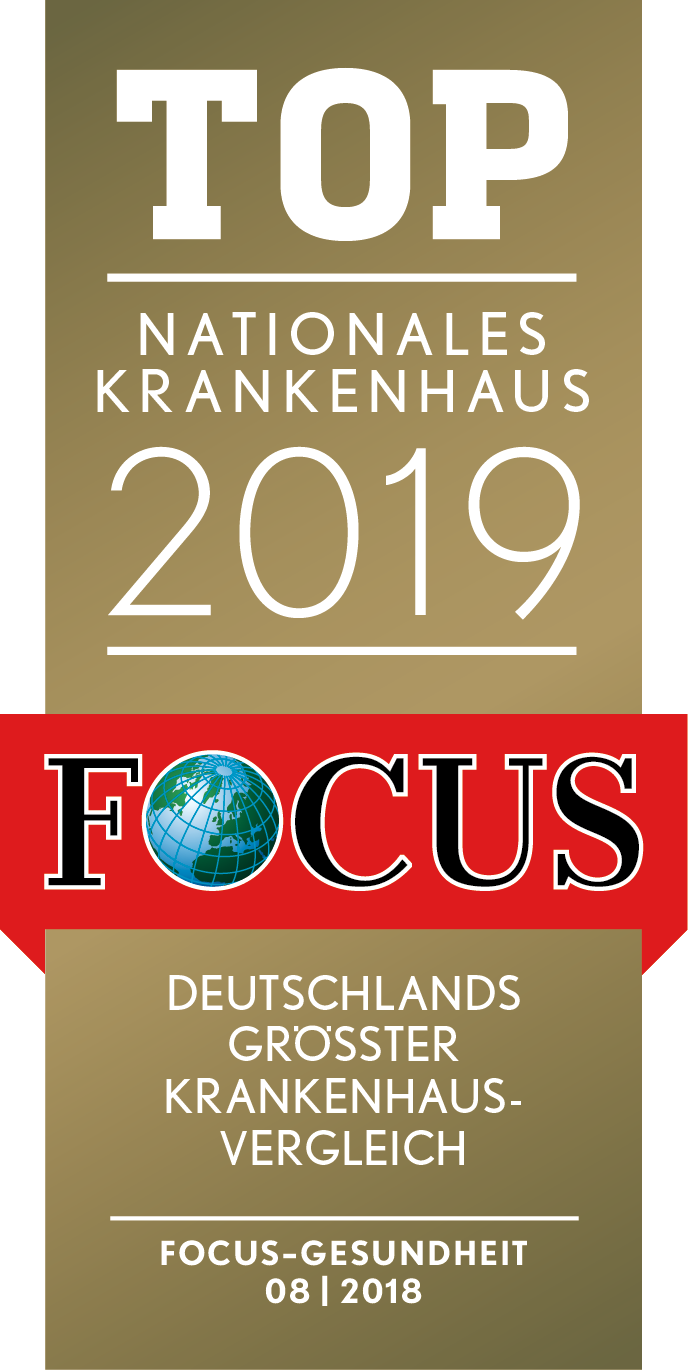 Focus Siegel 2019 - Nationales Krankenhaus